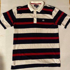 Brooks Brothers Multi-Color Striped Polo w/ Logo